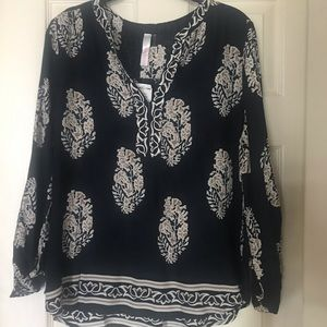 NWT Love Culture Long Sleeve Blouse